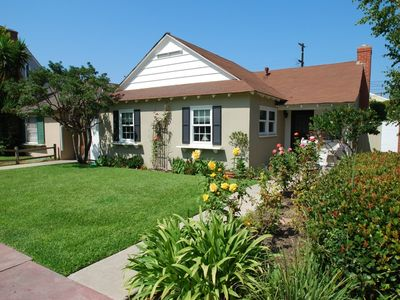 Photo for Beach Cottage - Large Patio, BBQ - Walk to the Beach and Balboa Pier!