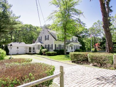 Photo for Spacious 4BR w/ Sunroom & Backyard BBQ, Walk to Beach & Harwich Port