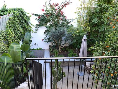 Photo for Apartment with garden in the heart of Ibiza