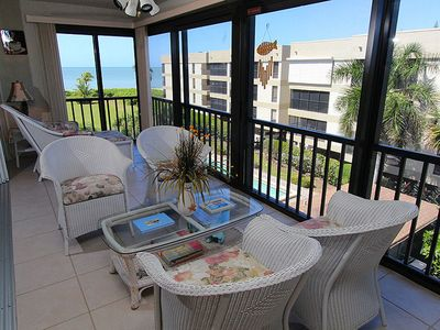 Photo for Enjoy Gulf Views From This Three Bedroom Condo on Sanibel