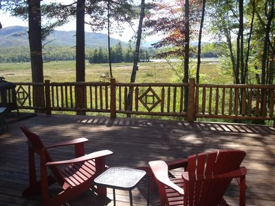 Photo for Beautiful log home.  Close to Saranac Lake and Lake Placid