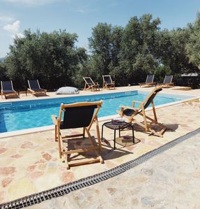 Photo for Unique Villa with large Garden and Private Pool with views of Monemvasia Castle