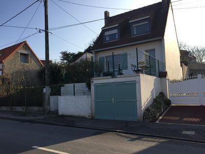 Photo for 3 bedroom house in the center of Wissant, beautiful garden