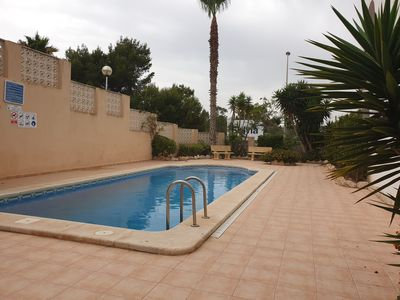 Photo for Javea Apartment with roof terrace 100 meters from the sea