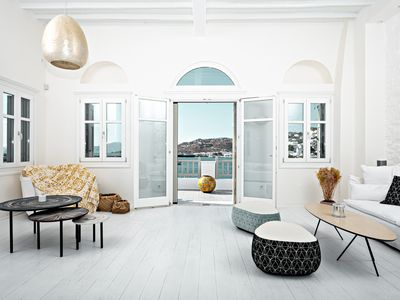 Photo for Pnoe - Seafront Residence, Mykonos, Yialos