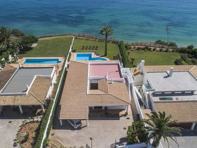 Photo for Villa Olhos de Agua Seafront for 12, short walk to the beach!