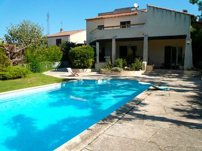 Photo for Nice house with pool between Aix-en-Provence and Marseille