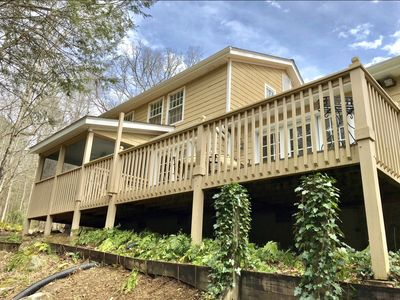 🌳40 acres in nature🌳creek💦hiking👣Smart TV and WIFI 🌿