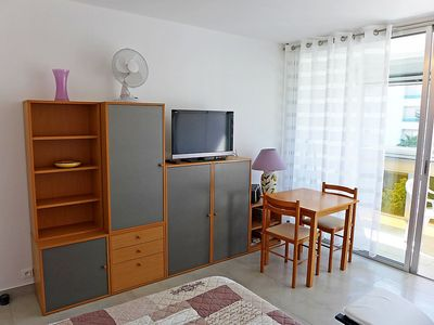 Photo for Apartment 708 m from the center of Fréjus with Lift, Parking, Internet, Washing machine (137095)