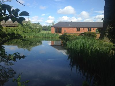 Photo for Duck Pond Barn is a two bedroom barn conversion situated on a working farm.