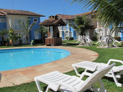 Photo for Excellent house with pool in condominium with comfort and security