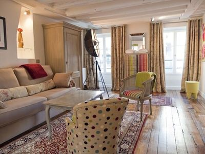 Photo for Luxurious Apartment, Near Louvre, in the Heart of Paris.