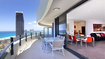 Photo for ABSOLUTE CRAZY  PRICING @ WAVE RESORT BROADBEACH OCEAN VIEW !