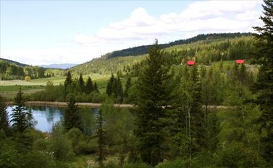 Photo for Beautiful Log Chalet on Private Lake in Wilderness Setting