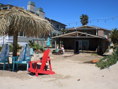Photo for Right on the Sand, 4 Bedroom Beach House!