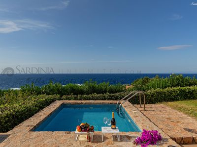 Photo for Villa with hot tub in Costa Paradiso