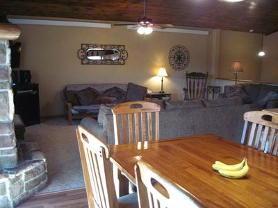 Prospector Dining - looking towards the living room.