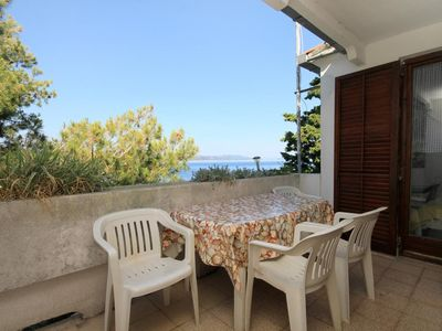 Photo for Two bedroom apartment near beach Lavdara, Dugi otok (A-434-a)