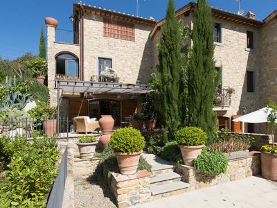 Photo for 1BR Apartment Vacation Rental in Villa A Sesta, Tuscany