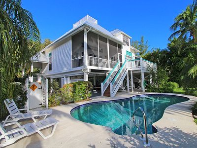 Photo for Tropical Island Getaway! The Key West Home on Sanibel Island