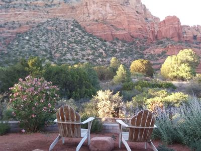 "Photo for Hiking and biking dream location. It's Sedona's ""oceanfront""!"
