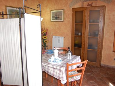 Photo for MONOLOCALE IN HILL 3 KM FROM SAN GIMIGNANO