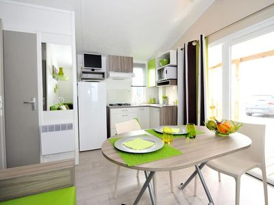 Photo for Camping Le Bel Air ***** - Mobil Home 3 Rooms 4 People Leisure
