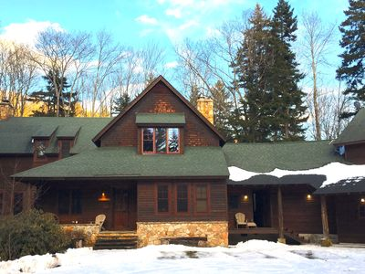Photo for Beautiful mountain lodge for family getaways in the Monongahela National Forest