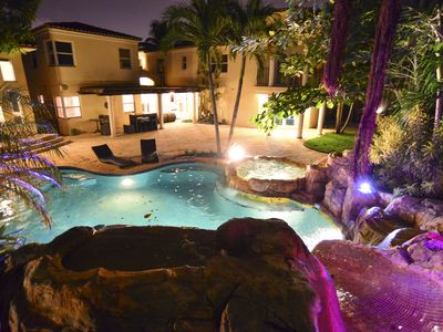 Photo for Must See! Lavish Mansion w/ Movie Theater + Pool Oasis!
