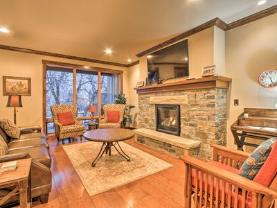 Photo for Red Lodge Townhome w /Private Hot Tub & Mtn Views!