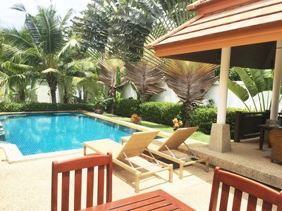 Photo for kamala Beach private pool Luxury Villa, 300 meters from the beach