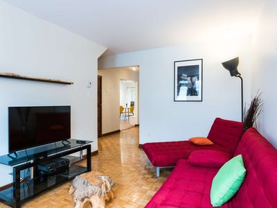 Photo for Condo renovated and fully furnished close to metro with parking
