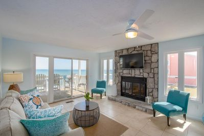 Living Room With Spectacular Ocean Views