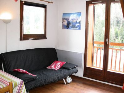 Photo for Apartment in La Plagne 1800 at 150m from the slopes - 3 Room Apartment 7 persons