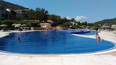 Photo for 5 minutes from Sainte Maxime, apartment RDJ 2 rooms with garden and parking