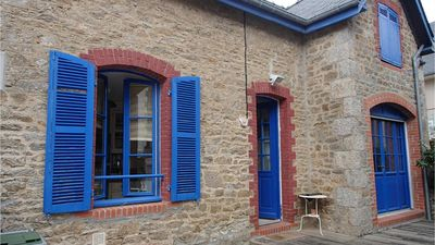 Photo for Charming town house in Dinard, very close to beaches and market, quiet area