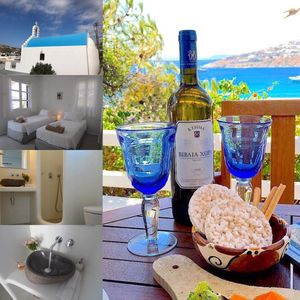 Photo for 2BR House Vacation Rental in Platis Gialos Mykonos