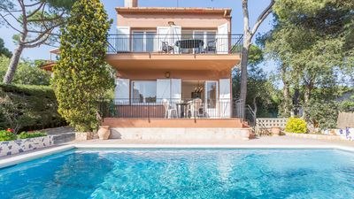 Photo for 3 bedroom Apartment, sleeps 6 in Calella de Palafrugell with Pool and WiFi