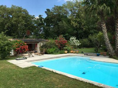 Photo for Large air-conditioned villa with a pool and a large garden