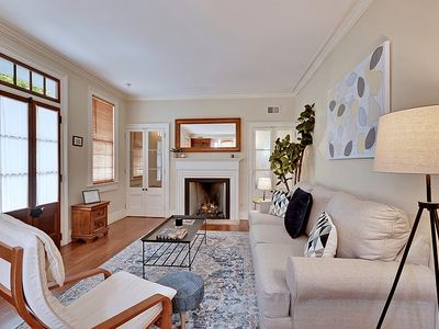 Photo for The Palm Suite - 1 Bedroom / 1.5 Bath Carriage House - Historic Downtown Charleston