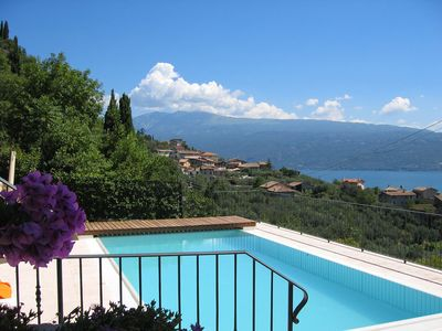 Photo for Fantastic Villa with Wi-Fi, Pool, Sea View and Terrace; Parking Available