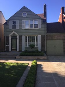 Front Home Exterior and Professional Landscaping
