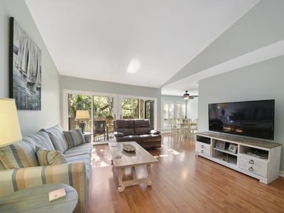 Photo for Summer 2019 This Great 2 Bed 2 Bath Harbour Town Villa in a great Location - Newly Renovated.