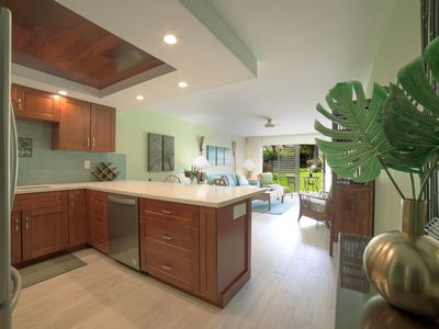 Photo for Newly Remodeled Garden Level Condo - Steps to Kam II Beach, Restaurants, Bars