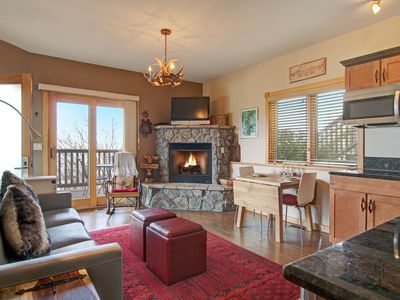 Photo for Mount Lady Washington 29B - 1 Br condo with 2 fireplaces, Marys Lake and mountain views!