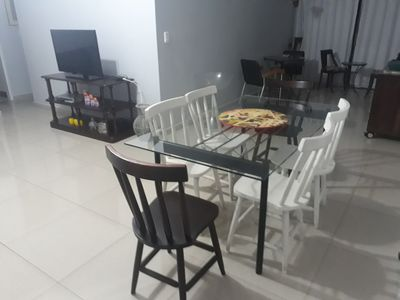Photo for Large apartment, terrace, air conditioning, close to everything.