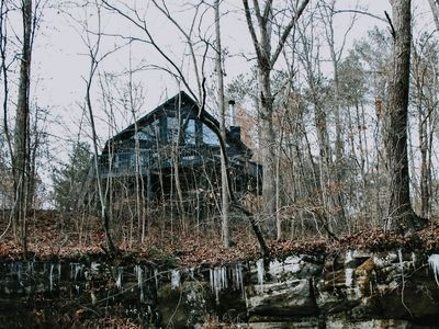 Photo for 3 BR cabin with big deck and gorge overlook