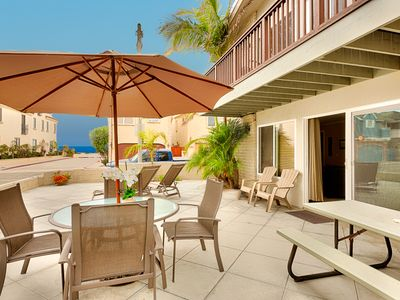 Photo for Spacious Vacation Home, Ocean View Patio, 1 House to Sand
