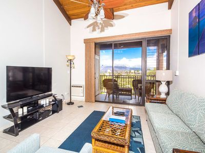 Photo for Luxury Upgrades w/Ocean+Haleakala View! Modern Kitchen, Lanai–Kamaole Sands 4409