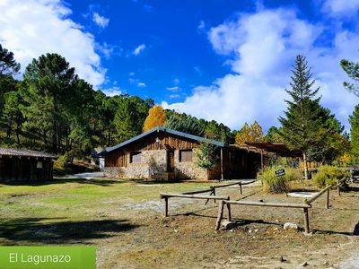 Photo for NATURAL PARK RÍO MUNDO HOUSE WITH CHARM LAGUNAZO